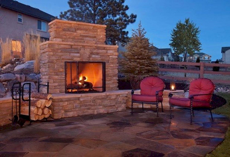 Backyard Fireplace146