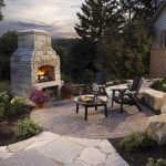 Ultimate Backyard Fireplace Sets The Outdoor Scene 86