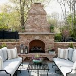 Ultimate Backyard Fireplace Sets The Outdoor Scene 87