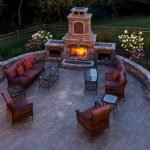Ultimate Backyard Fireplace Sets The Outdoor Scene 89
