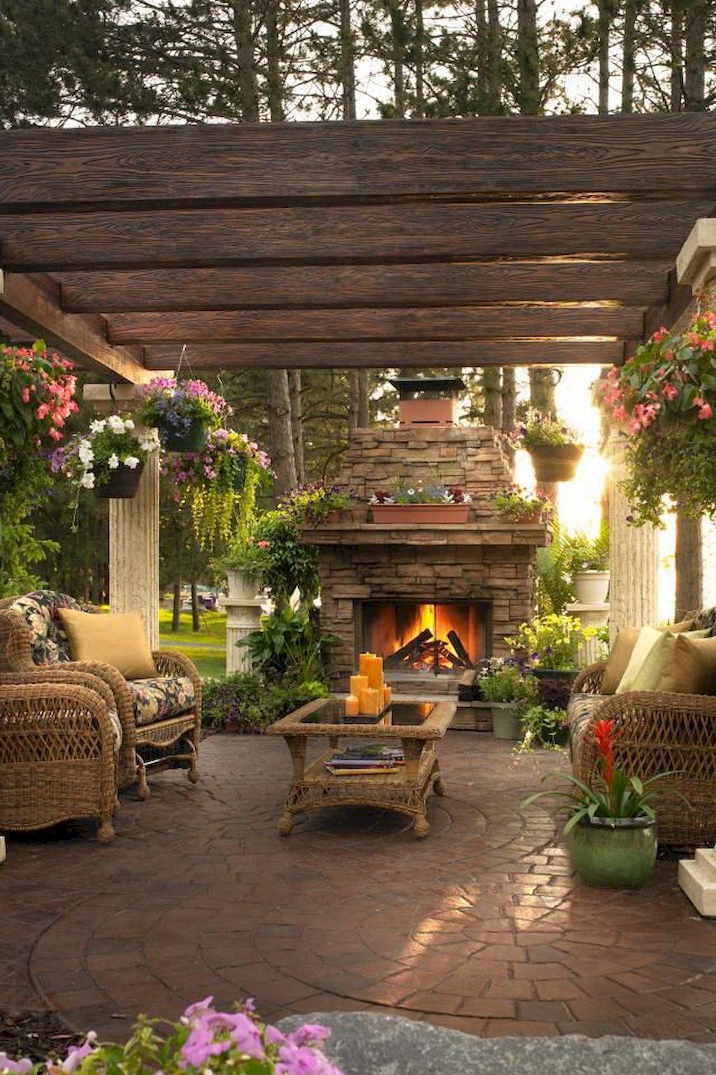 Backyard Fireplace152