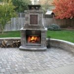 Ultimate Backyard Fireplace Sets The Outdoor Scene 92
