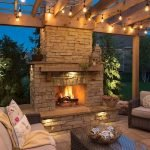 Ultimate Backyard Fireplace Sets The Outdoor Scene 93
