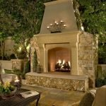 Ultimate Backyard Fireplace Sets The Outdoor Scene 94