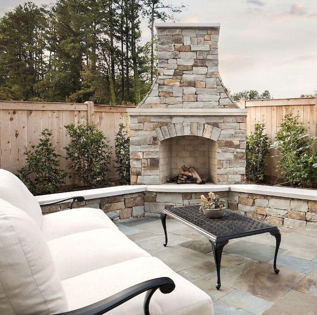 Backyard Fireplace157