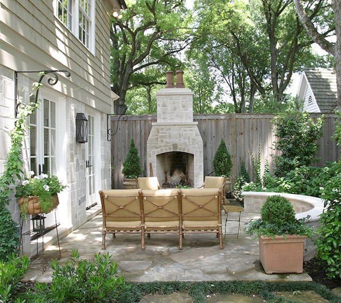 Backyard Fireplace158