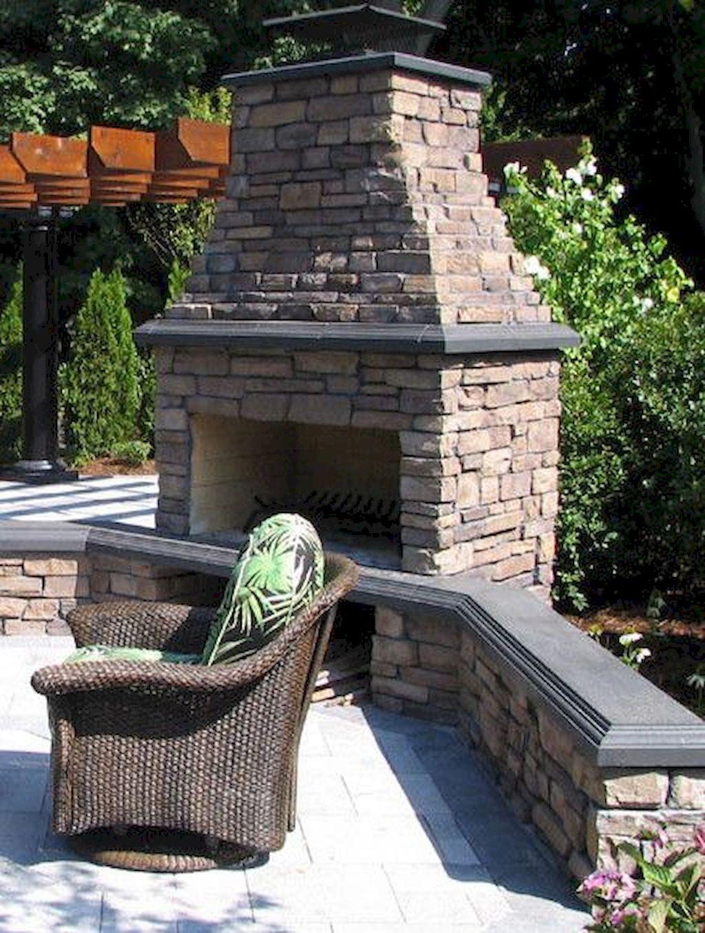 Backyard Fireplace159