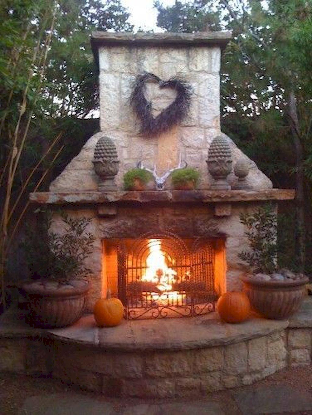 Backyard Fireplace160