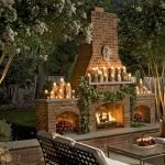 Ultimate Backyard Fireplace Sets The Outdoor Scene 102