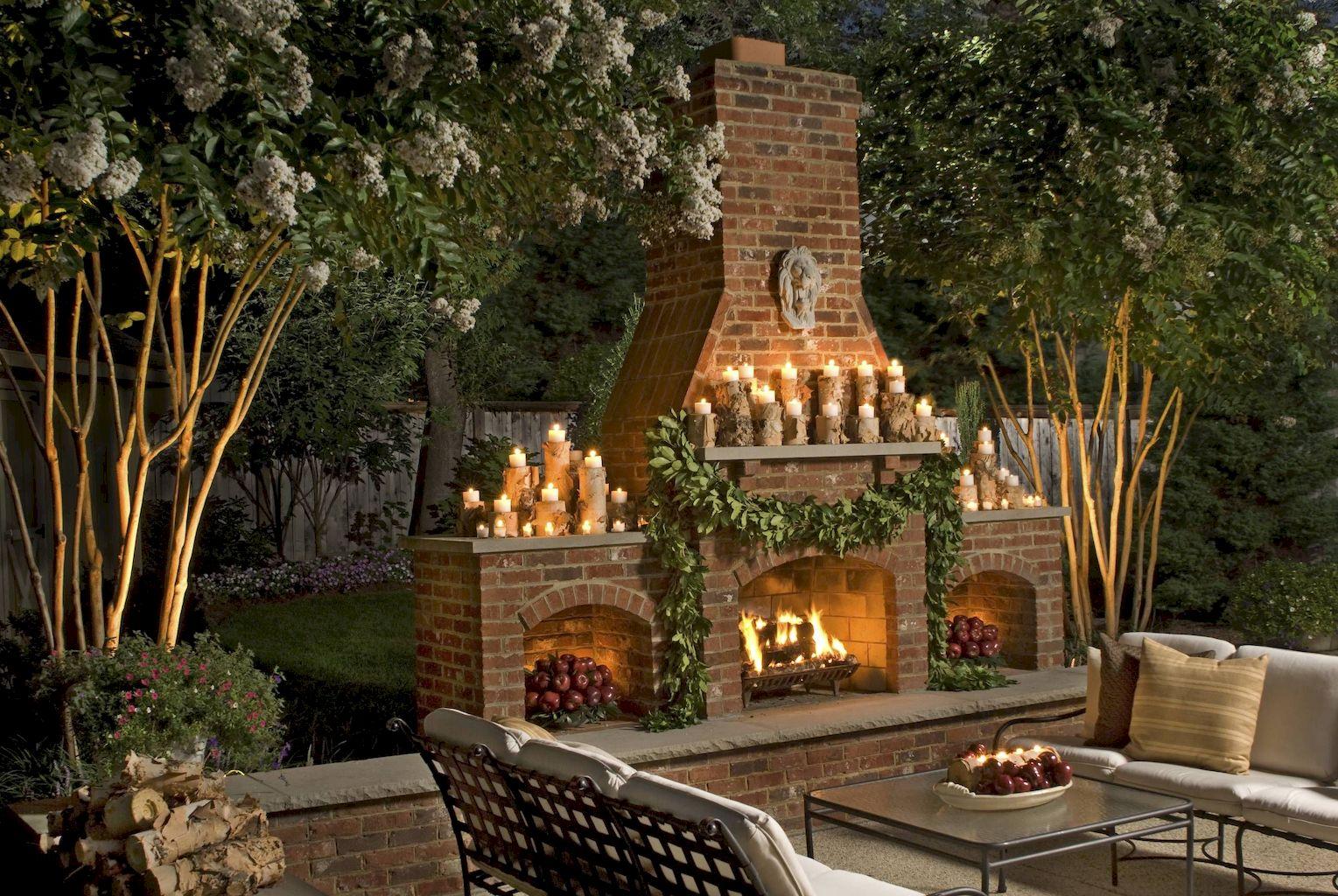 Backyard Fireplace163