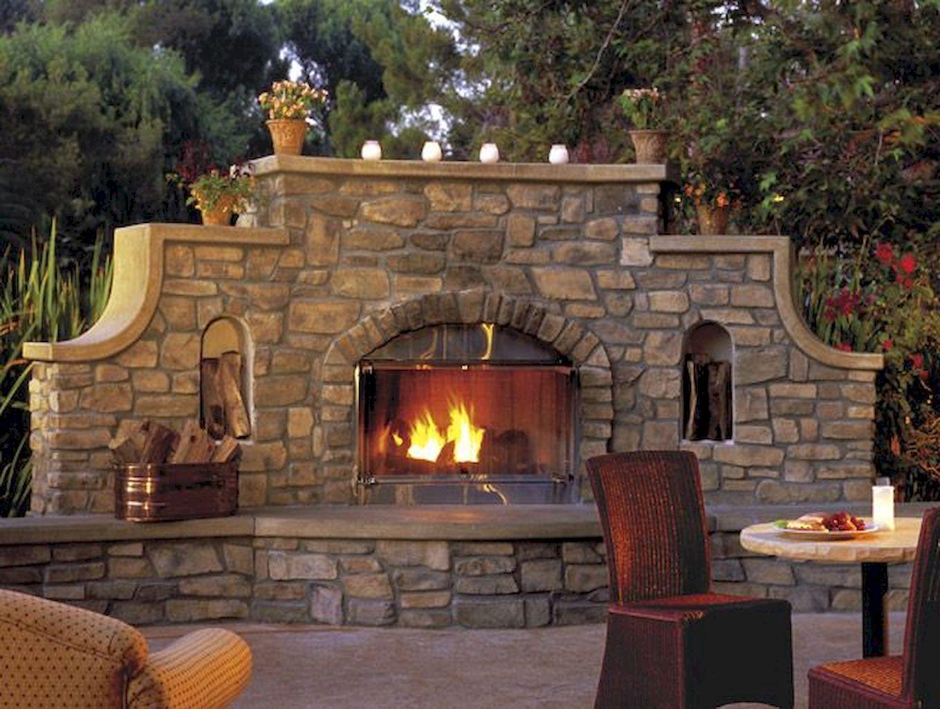 Backyard Fireplace164