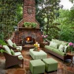Ultimate Backyard Fireplace Sets The Outdoor Scene 105