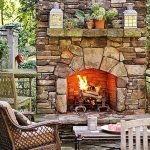 Ultimate Backyard Fireplace Sets The Outdoor Scene 106