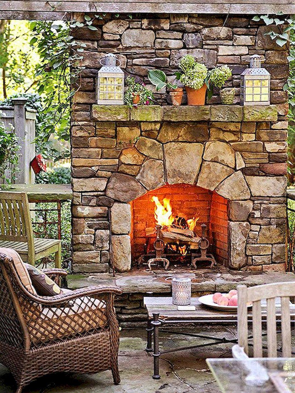Backyard Fireplace167