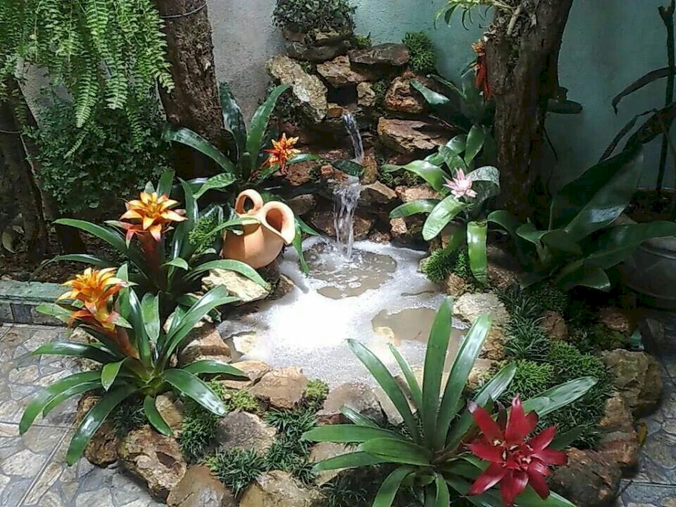 Backyard Pond008