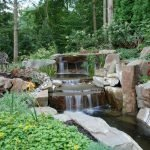 Enjoy the Peace and Serenity with Backyard Pond Decor 9