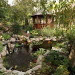 Enjoy the Peace and Serenity with Backyard Pond Decor 16