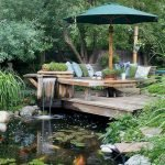 Enjoy the Peace and Serenity with Backyard Pond Decor 22