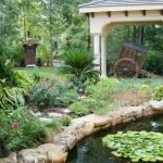 Enjoy the Peace and Serenity with Backyard Pond Decor 41