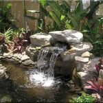 Enjoy the Peace and Serenity with Backyard Pond Decor 44