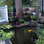 Enjoy the Peace and Serenity with Backyard Pond Decor 45