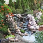Enjoy the Peace and Serenity with Backyard Pond Decor 48