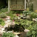 Enjoy the Peace and Serenity with Backyard Pond Decor 50