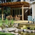 Enjoy the Peace and Serenity with Backyard Pond Decor 52