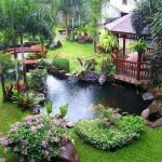 Enjoy the Peace and Serenity with Backyard Pond Decor 63