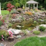 Enjoy the Peace and Serenity with Backyard Pond Decor 71