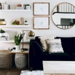 50 ++ Amazing Living Room Designs With Floating Shelves 127