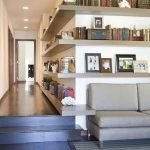 50 ++ Amazing Living Room Designs With Floating Shelves 129
