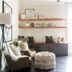 50 ++ Amazing Living Room Designs With Floating Shelves 131