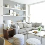 50 ++ Amazing Living Room Designs With Floating Shelves 136