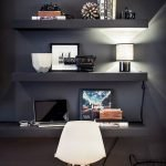 50 ++ Amazing Living Room Designs With Floating Shelves 161