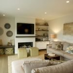 50 ++ Amazing Living Room Designs With Floating Shelves 170