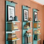 50 ++ Amazing Living Room Designs With Floating Shelves 179
