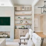 50 ++ Amazing Living Room Designs With Floating Shelves 17