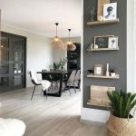 50 ++ Amazing Living Room Designs With Floating Shelves 27