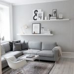 50 ++ Amazing Living Room Designs With Floating Shelves 50