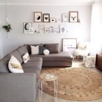 50 ++ Amazing Living Room Designs With Floating Shelves 52