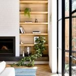 50 ++ Amazing Living Room Designs With Floating Shelves 53