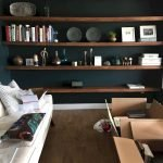 50 ++ Amazing Living Room Designs With Floating Shelves 74