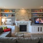 50 ++ Amazing Living Room Designs With Floating Shelves 81
