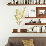 50 ++ Amazing Living Room Designs With Floating Shelves 82