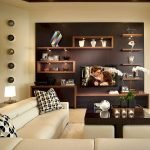 50 ++ Amazing Living Room Designs With Floating Shelves 89