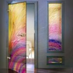 50++ Awesome Decorative Glass Doors Ideas 132