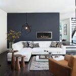 Modern Living Room Ideas With Grey Coloring 10
