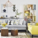 Modern Living Room Ideas With Grey Coloring 14