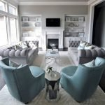 Modern Living Room Ideas With Grey Coloring 15